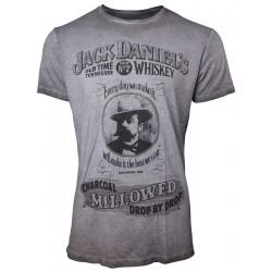 Maglietta Jack Daniel's Charcoal Mellow
