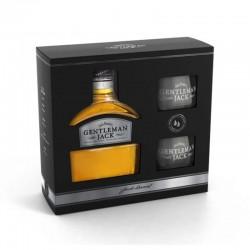 Confezione Gentleman Jack con bicchieri