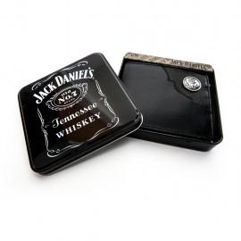 Portafoglio Jack Daniel's pelle nera