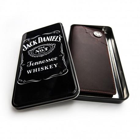 Portafoglio Jack Daniel's western pelle marrone