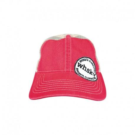 Cappellino  WHSKY Baseball Trucker Rosso