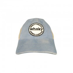 Cappellino  WHSKY Baseball Trucker Denim
