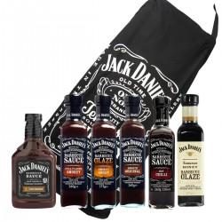 Kit 6 salse Jack Daniel's con grembiule in omaggio