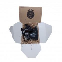 Confezione regalo  Jack Daniel's  Mignon vetro 5cl con omaggio