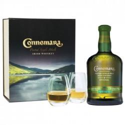 Confezione Connemara Original con 2 bicchieri