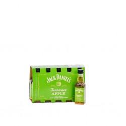Confezione  Jack Daniel's Tennessee Apple 10 Mignon 5cl