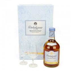 Confezione Dalwhinnie Winter's Gold Single Malt con bicchieri