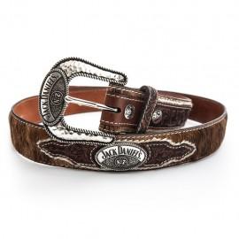 Cintura Jack Daniel's con fibbia in argento