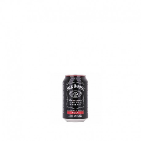 Jack Daniel's Whiskey & Cola lattina 33 cl