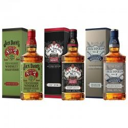 Jack Daniel's Legacy Edition set di 3 bottiglie