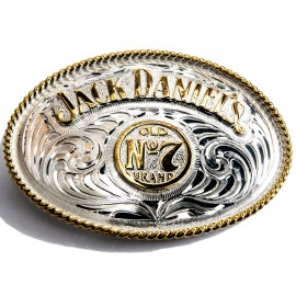 Fibbia Jack Daniel's argento
