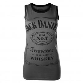 Canottiera Jack Daniel's grigia
