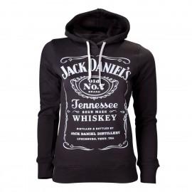 Felpa donna Jack Daniel's modello classico