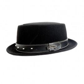 Cappello Jack Daniel's Pork pie nero
