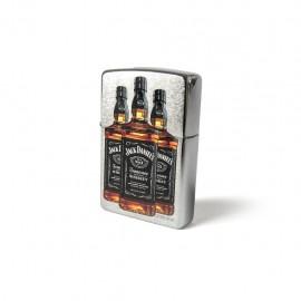 Accendino Zippo Jack Daniel's tre bottiglie