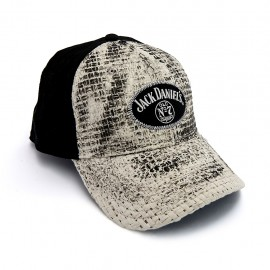 Cappellino Jack Daniel's baseball paglia