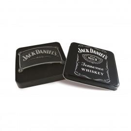 Fibbia Jack Daniel's logo sugli angoli