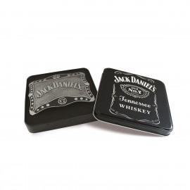 Fibbia Jack Daniel's scudo borchiato