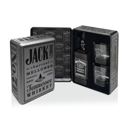 Confezione Jack Daniel's Whiskey con bicchieri 2015