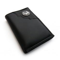 Portafoglio Jack Daniel's trifold nero