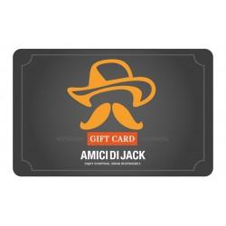 Gift Card Amici di Jack del valore di 50 Euro