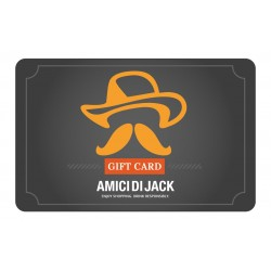 Gift Card Amici di Jack del valore di 200 Euro