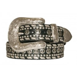 Cintura Jack Daniel's Donna con decori cromati