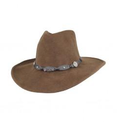 Cappello Jack Daniel's cowboy feltro Marrone