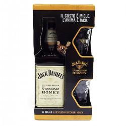 Confezione Tennessee Honey liquore con bicchieri