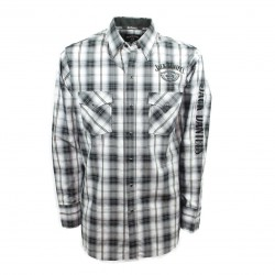 Camicia Scozzese Jack Daniel's logo